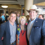 Seth Alfrod, Marilyn Harris & Dr. Jon Spers, candidate for GLO